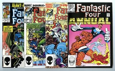 Fantastic Four Annuals #17,18,19,20 Avg NM New Marvel Bronze Copper Collection