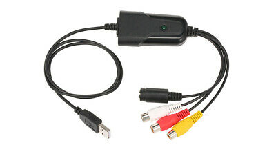 RCA S-Video Stereo Audio To USB Converter Digital MPEG Recorder Editor
