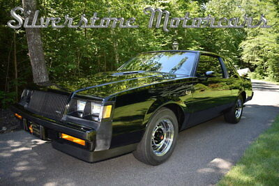 1987 Buick Grand National  1987 Black Low Miles Three Owner Pristine Stunning Collector Car