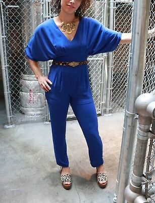 f7d12104041 Small Women s WYLDR royal blue jumpsuit   romper Forever 21 NEW w  TAGS