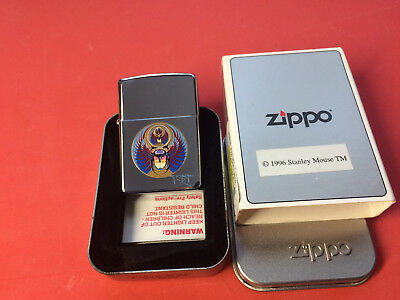 Zippo Artist Stanley Mouse Captured Rock band JOURNEY Art New w/Box 1998