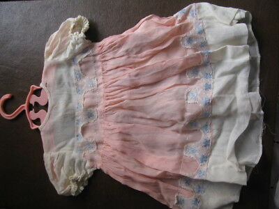 Antique Victorian Baby Doll Dress Big and Small Clothes