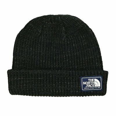 The North Face Capsule Salty Dog Unisex Headwear Beanie Hat - Tnf Black One Size