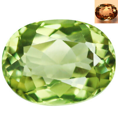 1.81Ct IF Grand look Oval Cut 8 x 6 mm AAA Color Change Turkish Diaspore