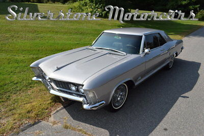 Buick Riviera  1964 Silver Wildcat 465 Pristine Loaded Tinted Windows Great Driver