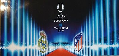 Pass Skybox & Ticketbox UEFA Super Cup 2018 Real Madrid  - Atletico Madrid