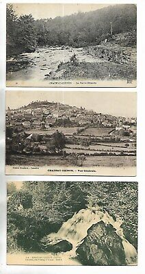 58 - Lot de 3 cartes postales de CHATEAU-CHINON ( Nièvre ) -