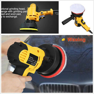 220V 700W Electric Car SUV Adjustable Speed Polisher Buffer Waxing Machine Tool