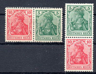 German Reich Empire from booklet MH (4863