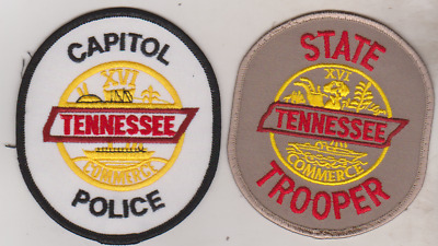 Tennessee State Trooper & Capitol Police patches