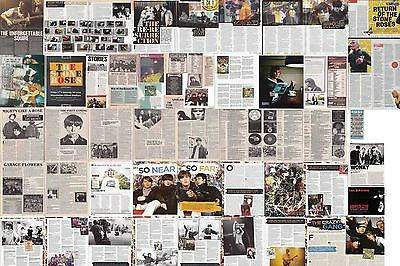 STONE ROSES : CUTTINGS COLLECTION -adverts interviews etc-