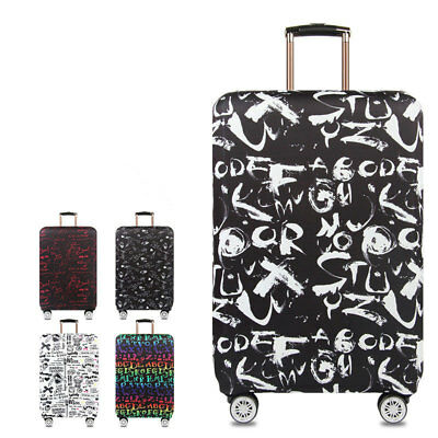 """18""""-32"""" Luggage Suitcase Elastic Protective Travel Dustproof Protector Cover Bag"""