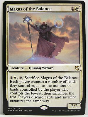 Magic Commander 2018 - 1x Magus of the Balance
