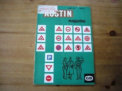 Austin Magazine, Jan 1962, very rare factory-issued mag, very good condition