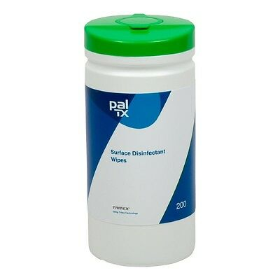 200 x Pal Surface Disinfectant Wipes CC197  Catering Cleaning Bacterial Wipe
