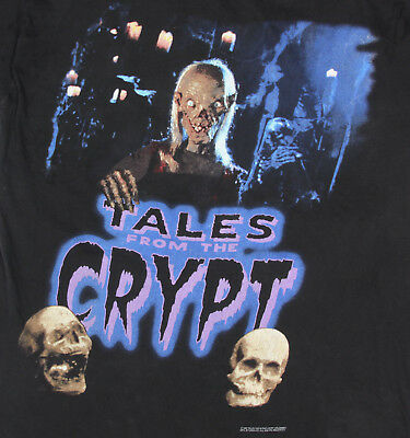 TALES FROM THE CRYPT Vtg 1995 Cronies Ghoul Horror Men's T-Shirt Tee sz XL /3671