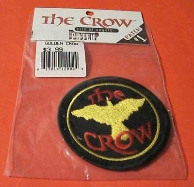 """1996 Sealed New In Package """"the Crow Movie"""" Embroidered Patch #1 Free S&h M"""