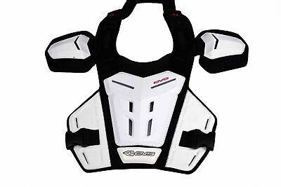 EVS Sports R4K-W-Y Race Collar White - Youth