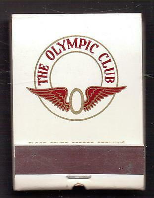 The Olympic Club-One 1/2 Inches Width-Match-Book-Super Nice-Full