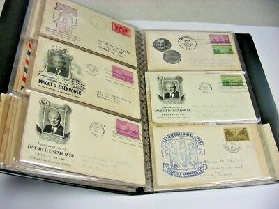 US, Postal History, Excellent Assortment of OLD Covers in a binder