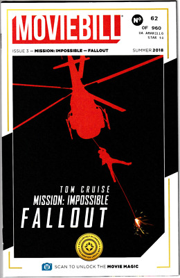 Mission Impossible - Fallout Movie Bill Regal IMAX Moviebill Ticket Collectible