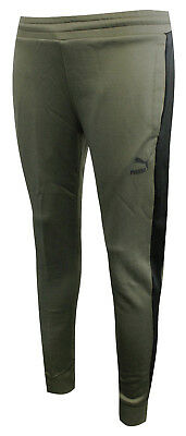 Puma Archive Mens T7 Track Pants Casual Joggers Trouser Olive 573313 14 EE37 06e74cc280
