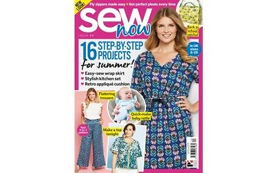 Sew Now Issue 24 Magazine With Free Sewing Patterns Simple Sew Dress & Mccalls