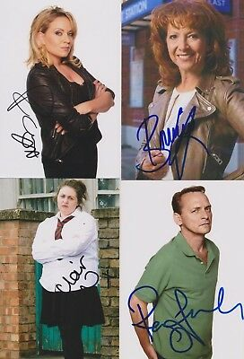 15 Eastenders Hand Signed photos - 6x4 inches - Clearout sale  Autographs