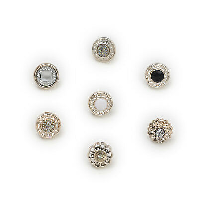 50pcs Shank Round Resin Buttons Clothing Decor Sewing Scrapbooking Home 13mm