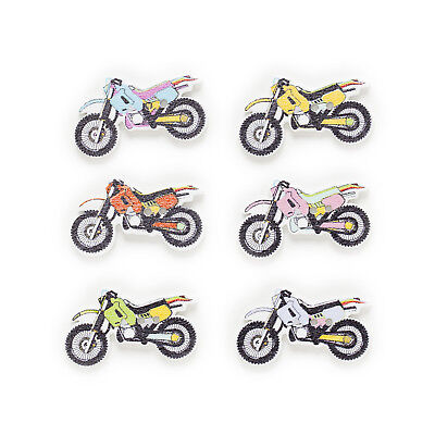50pcs Motorcycle Wood Buttons Sewing Scrapbooking Home Handwork Decor 33x18mm