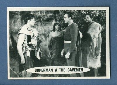 1966 Topps SUPERMAN #40 Superman and the Cavemen *NearMint-Mint*