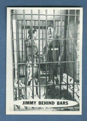1966 Topps SUPERMAN #53 Jimmy Behind Bars *NearMint*