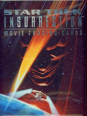 Star Trek Insurrection Movie Skybox Album Binder