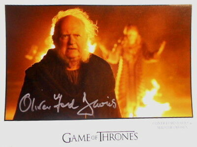 OLIVER FORD DAVIES original signiert – GROSSFOTO - GAME OF THRONES