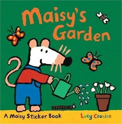 Maisy's Garden: A Sticker Book (Paperback or Softback)