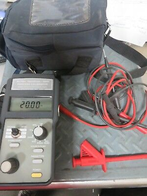 Altek 820 Multifunction Process Calibrator W/ Case And Cords