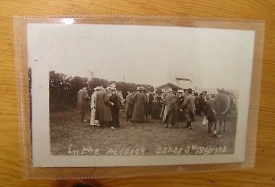 1906 Postcard In The Paddock Ashey I.of.W. Photographic