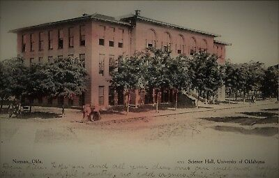 1907 Science Hall University Of Oklahoma ~ Norman Ok