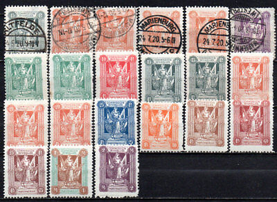 German Reich area Marienwerder used MH (4883