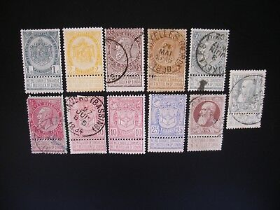 Belgium-1893/1948 Collection of 24 Stamps Unused/Used