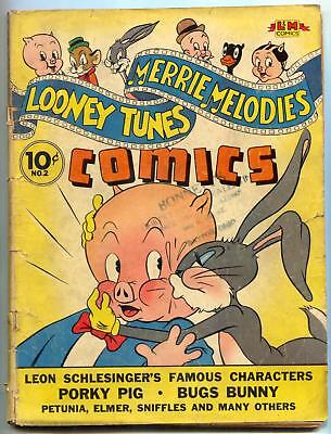 Looney Tunes & Merry Melodies #2 1941- Groucho- Rare Golden Age G