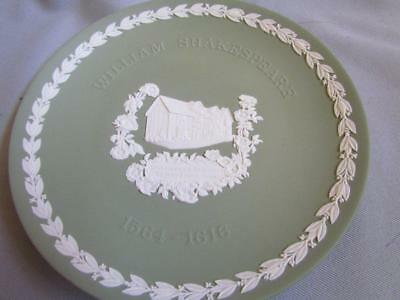 Wedgwood Green William Shakespeare Plate
