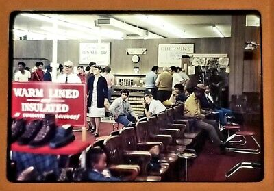 (3) Vtg 35mm Color Slide Photo Lot-1973 CHERNIN'S SHOE STORE Chicago (IL)~Signs