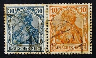 nystamps Germany Stamp # W15 Used €38