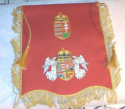 Hungary Hungarian Hussar Royal Order Vitez Knight Merit War Banner Flag Nation