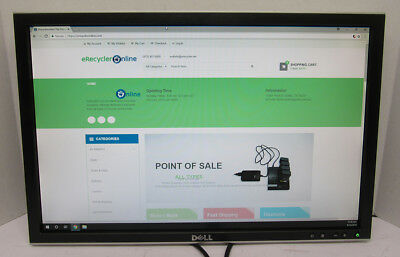 """Dell 2208WFPt 22"""" Widescreen LCD Computer Monitor"""