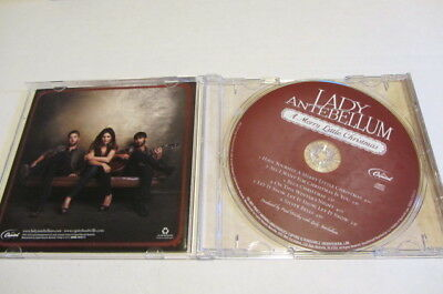A MERRY LITTLE CHRISTMAS by LADY ANTEBELLUM (CD, Oct-2010, Capitol)