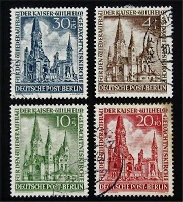 nystamps Germany Stamp # 9NB8 - 9NB11 Used $164