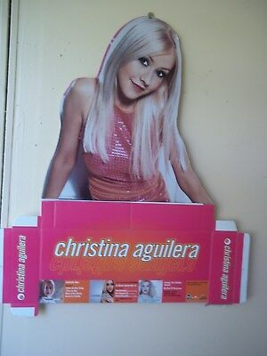 Christina Aguilera unmade RCA/BMG counter stand-up 2000.