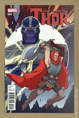 Unworthy Thor (Marvel) #4B 2017 Sauvage Retailer Incentive 1:25 Variant NM 9.4